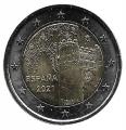 Moneda 2 euros de España 2021. Toledo
