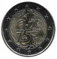 Moneda 2 euros de Francia 2021. Unicef