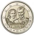Moneda 2 euros de Luxemburgo 2021. Matrimonio
