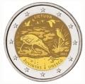 Moneda 2 euros de Lituania 2021. Zuvintas