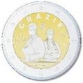 Moneda 2 euros de Italia 2021. Profesiones sanitarias