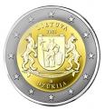 Moneda 2 euros de Lituania 2021. Dzukija