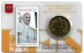 Moneda 50 centimos euro Vaticano 2015. Sello Papa Francisco Nº6