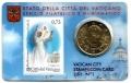 Moneda 50 centimos euro Vaticano 2011. Sello Papa Juan Pablo II