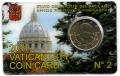 Moneda 50 centimos euro Vaticano 2011. SIN SELLO Nº2