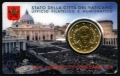 Moneda 50 centimos euro Vaticano 2015. SIN SELLO Nº6