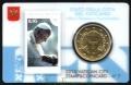 Moneda 50 centimos euro Vaticano 2015. Sello Papa Francisco Nº7