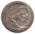 Moneda Alemania - III Reich 5 REICHSMARK 1935-E MBC