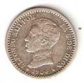 Moneda Alfonso XIII 0,50 Céntimos 1904*1.0 (PGV).MBC