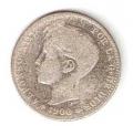 Moneda Alfonso XIII 01 Pesetas 1900 *--.-- (SMV).BC