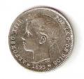 Moneda Alfonso XIII 01 Pesetas 1899 *18.99 (SGV).MBC
