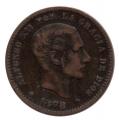 Moneda Alfonso XII 0,05 céntimos 1878 .MBC (BARNA)OM