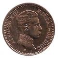 Moneda Alfonso XIII 0,02 Céntimos 1905 *05 (SMV).SC