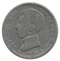 Moneda Alfonso XIII 01 Pesetas 1905 *19.-- (SMV).MBC-