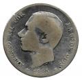 Moneda Alfonso XII 01 Peseta 1883 *--.--.BC-