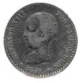 Moneda Alfonso XIII 0,50 Céntimos 1889*8.9 (MPM).MBC