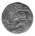 Moneda Austria 005 Euros 2009 S/C. Libertad