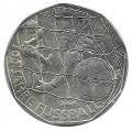 Moneda Austria 005 Euros 2004 S/C. Futbol