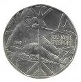 Moneda Austria 005 Euros 2005 S/C. Esqui