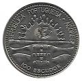 Moneda Azores 0100 Escudos 1995 S/C
