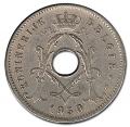 Moneda Bélgica 0,05 Centimos 1930 MBC