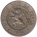 Moneda Bélgica 0,10 Centimos 1863 MBC