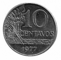 Moneda Brasil 0,10 Centavos 1995 EBC