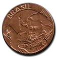 Moneda Brasil 0,10 Centavos 1998 MBC