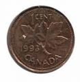 Moneda Canada 0,01 centavo 1974 MBC