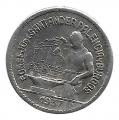 Moneda Consejo Santander,Palencia y Burgos  0,50 céntimos 1937