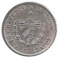 Moneda Cuba 0,10 Centavos 1920 MBC