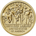 Moneda EE.UU. 1 dolar 2019 S/C. Innnovacion - Trustees Garden .D