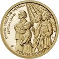 Moneda EE.UU. 1 dolar 2020 S/C. Innnovacion - Septima Clark .D