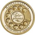 Moneda EE.UU. 1 dolar 2020 S/C. Innnovacion - Telefono .D