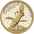 Moneda EE.UU. 1 dolar 2020 S/C. Innnovacion - Telescopio .D