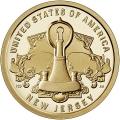 Moneda EE.UU. 1 dolar 2019 S/C. Innnovacion - Luz eléctrica (D)
