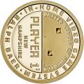 Moneda EE.UU. 1 dolar 2021 S/C. Innovacion - Pong.P