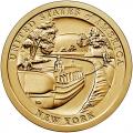 Moneda EE.UU. 1 dolar 2021 S/C. Innovacion - CANAL DE ERIE.D