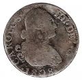 Moneda España Carlos IV 2 Reales Madrid 1808-AI. RC