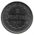 Moneda Euzkadi 02 pesetas 1937.SC