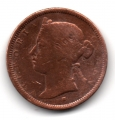Moneda Gran Bretaña STRAITS SETTLEMENTS 1/2 CENTAVO 1872 MBC-
