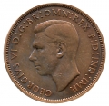 Moneda Gran Bretaña 0001 Penny 1947. MBC