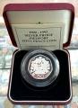 Moneda Gran Bretaña (Piedfort) 50 Pence 1992/93 Proof