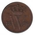 Moneda Holanda 0,01 Centimo 1876 MBC