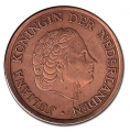 Moneda Holanda 0,01 Centimo 1954 MBC