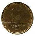 Moneda Hungria 001 FORINT 1998 MBC