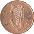 Moneda Irlanda 01 Penny  1976 EBC