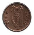 Moneda Irlanda 01 Penny  2000 MBC