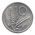 Moneda Italia 010 Liras 1972 MBC