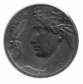 Moneda Italia 0,20 centimos Lira 1920 R EBC